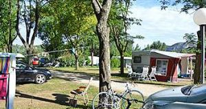 Emplacements de camping, caravaning
