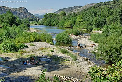camping cevennes gard riviere